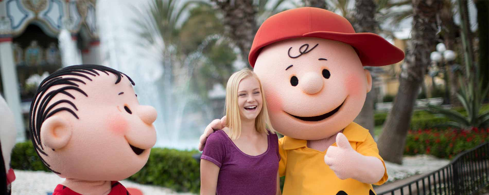 Charlie Brown Day at Carowinds