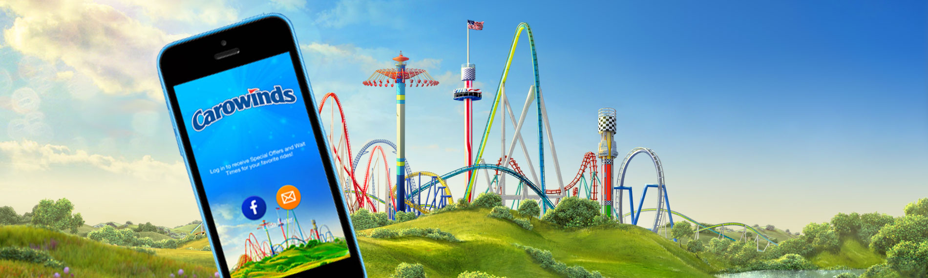 Carowinds Mobile App