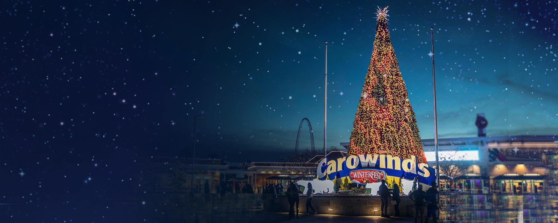 WinterFest Tickets at Carowinds' Holiday Event