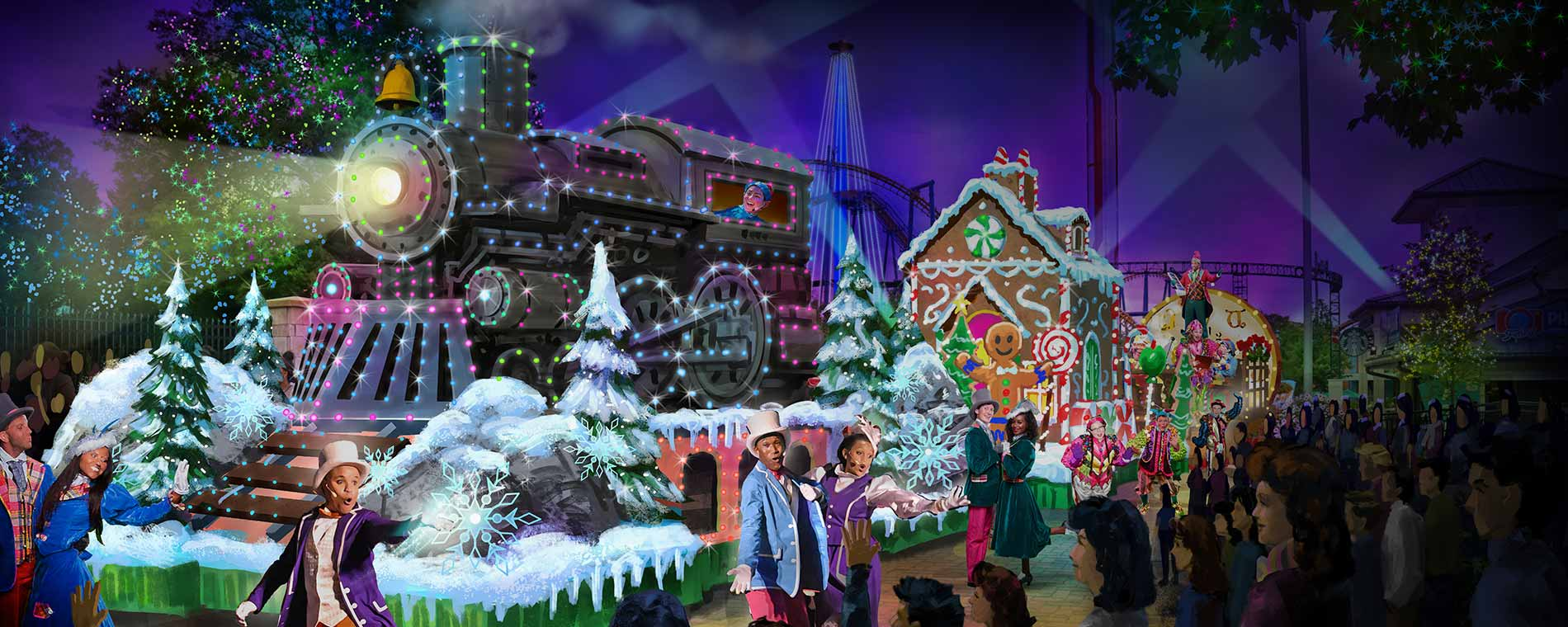 All-New WinterFest Wonderland Parade
