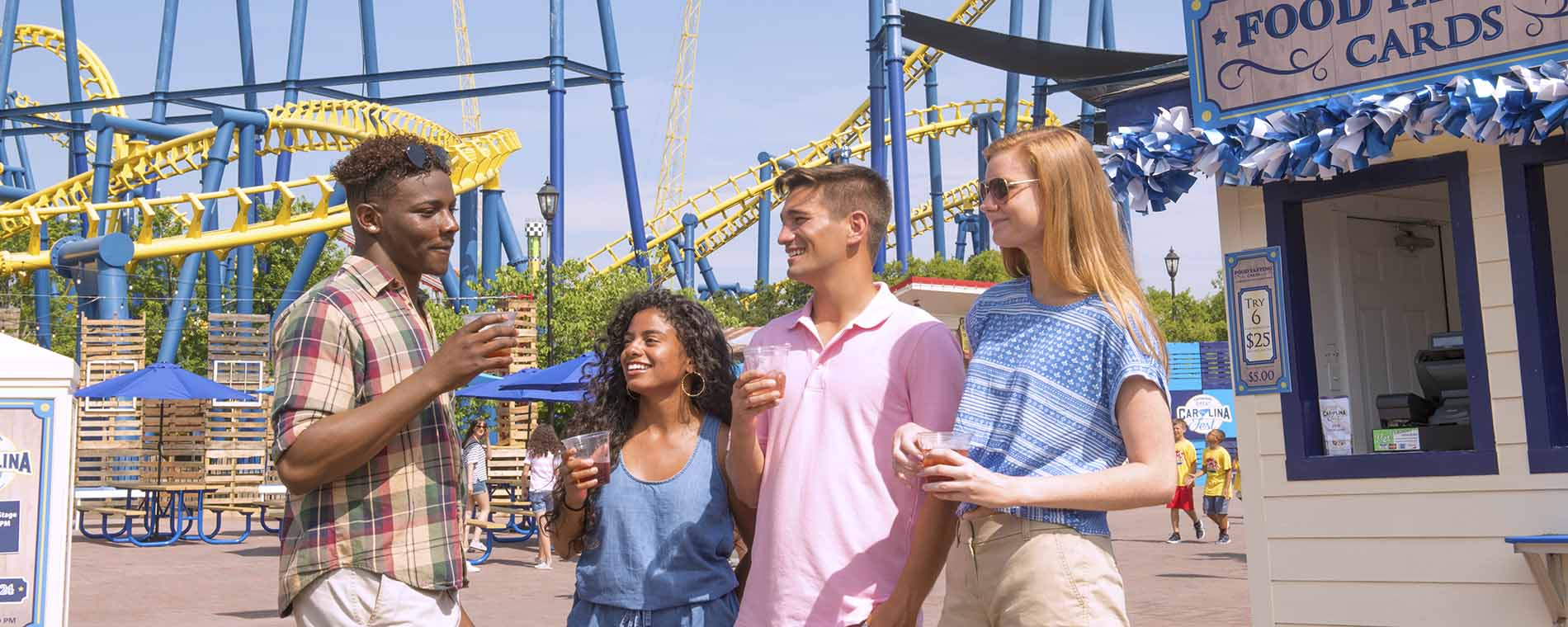 Things to do in Charlotte at Carowinds