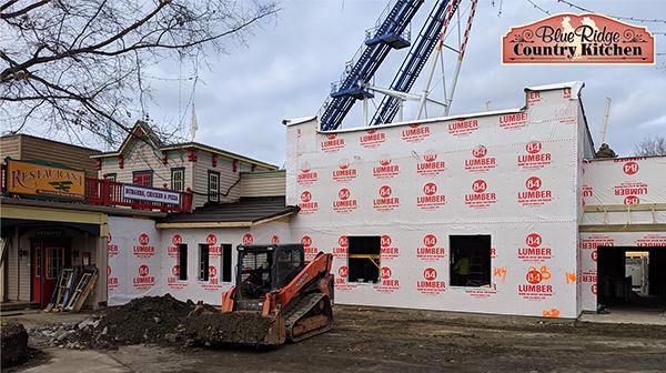 January Copperhead Strike Construction Update Carowinds