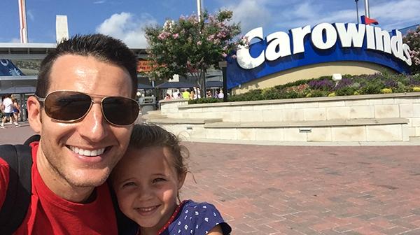 Like Father, Like Daughter - Carowinds