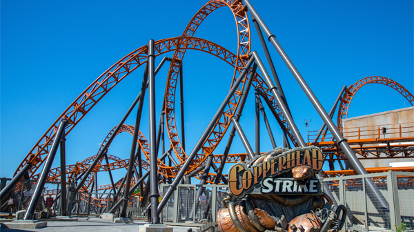 Carowinds Quiz: Which Roller Coaster Are You? Results Copperhead Strike