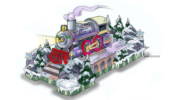 A Train Float will be part of WinterFest's parade and Christmas event
