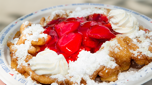 Carowinds Amusement Park Funnel Cake Recipe