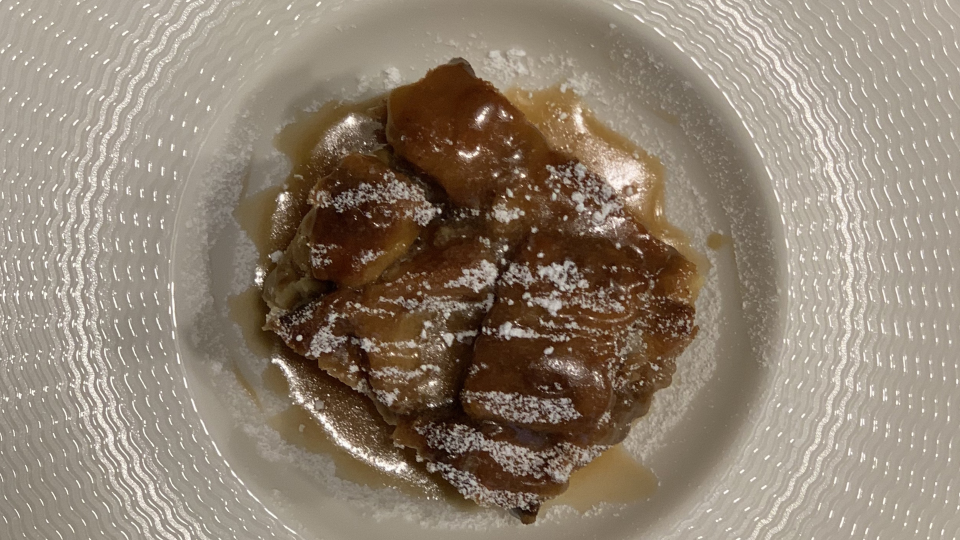 Carowinds Bread Pudding and Caramel Sauce Recipe