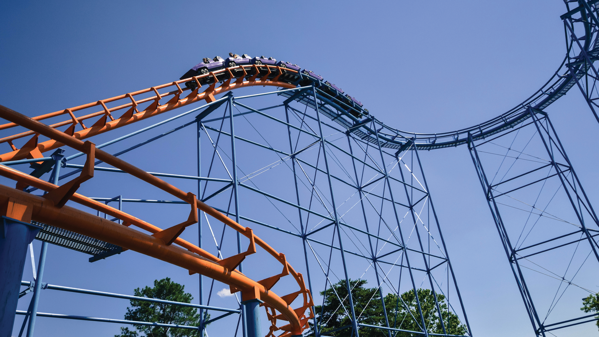 Carowinds' Classic Roller Coaster Carolina Cyclone Takes Families on a Ride