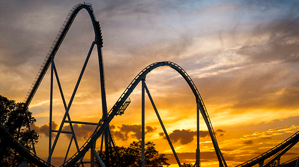 Fury 325, the world's tallest, fastest Giga coaster
