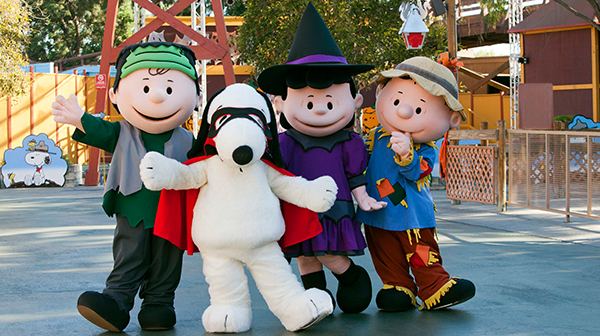 PEANUTS characters at The Great Pumpkin Fest, Halloween event for Kids