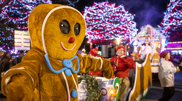 WinterFest Wonderland Parade at Carowinds' Holiday Event