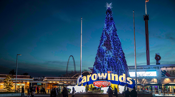 Christmas Singer At Carowinds Winterfest 2020 What Rides Will Be Open During WinterFest?   Carowinds