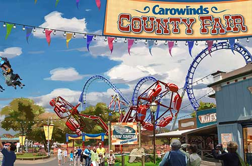 Carowinds All-New County Fair