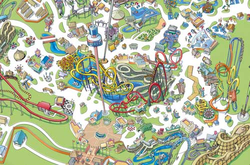 Carowinds Park Map Explore | Carowinds Carowinds Park Map