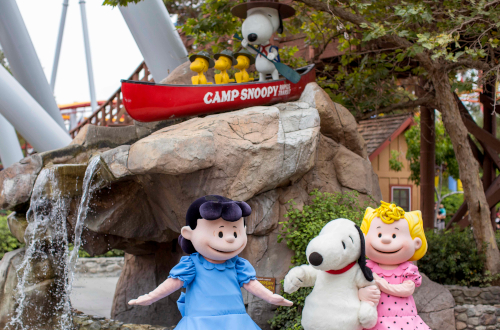 Carowinds All-New Camp Snoopy