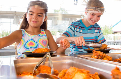Kings Island Education Days All-You-Can-Eat Catered Meal