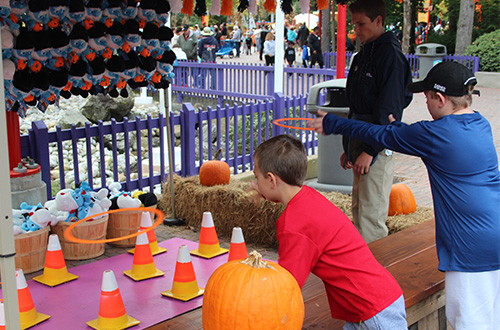 Franklin's Game Corner at the Great Pumpkin Fest Halloween Event