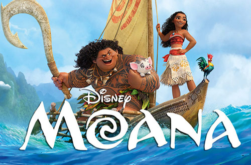 Moana at Great America's Season Pass Summer Blast