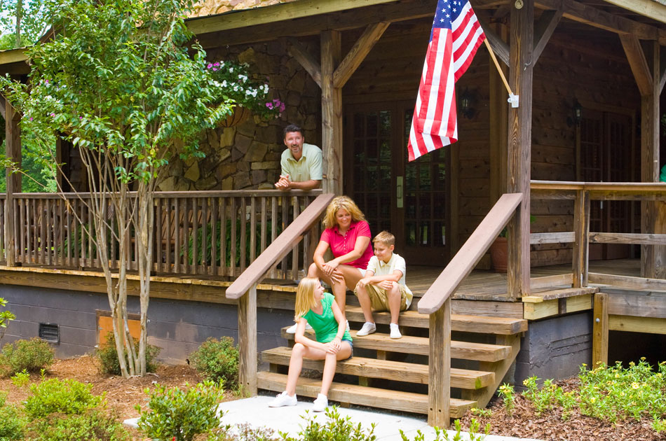 Luxury Camping Site at Camp Wilderness Lodge