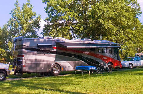 RV Sites at Camp Wilderness