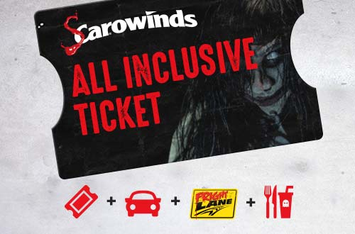 SCarowinds All Inclusive Ticket