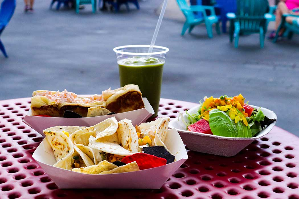 Food at Carowinds' Carolina Summer Nights
