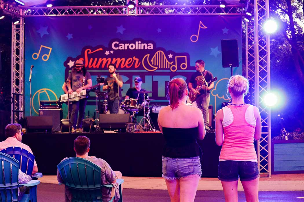 Live Music at Carowinds' Carolina Summer Nights