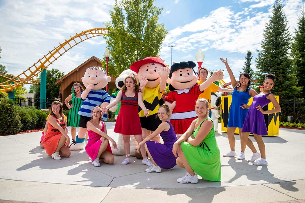 Carowinds PEANUTS Celebration