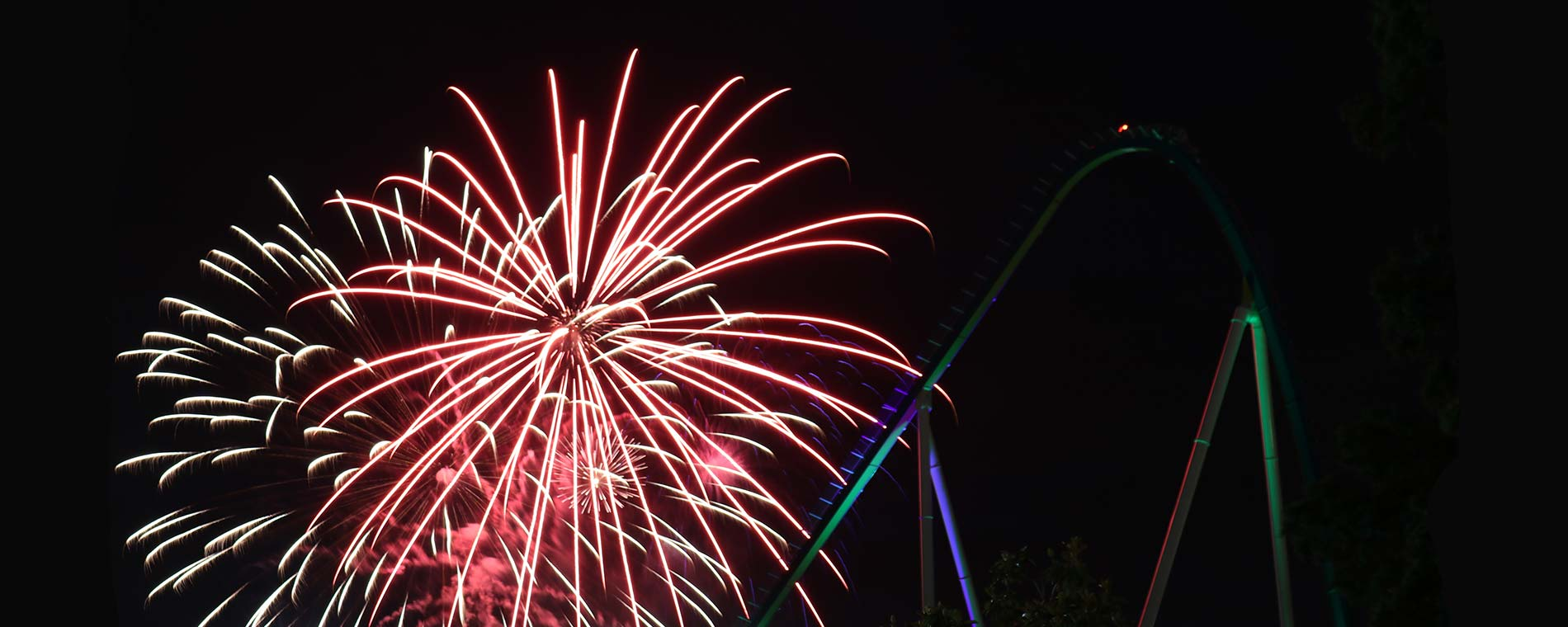 July 4th Fireworks at Carowinds