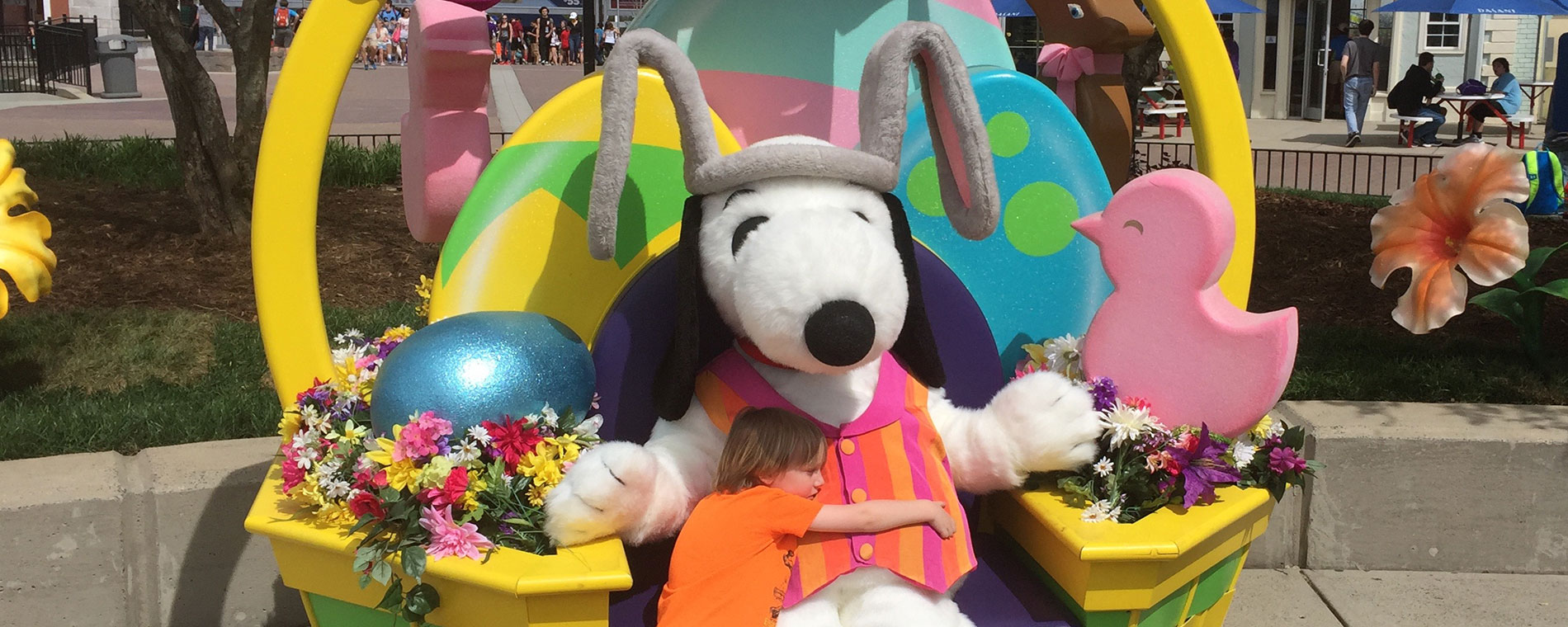 Snoopy's Scavenger Hunt at Easter Egg-stravaganza