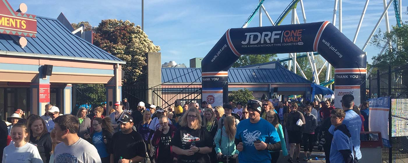 JDRF One Walk for Diabetes at Carowinds