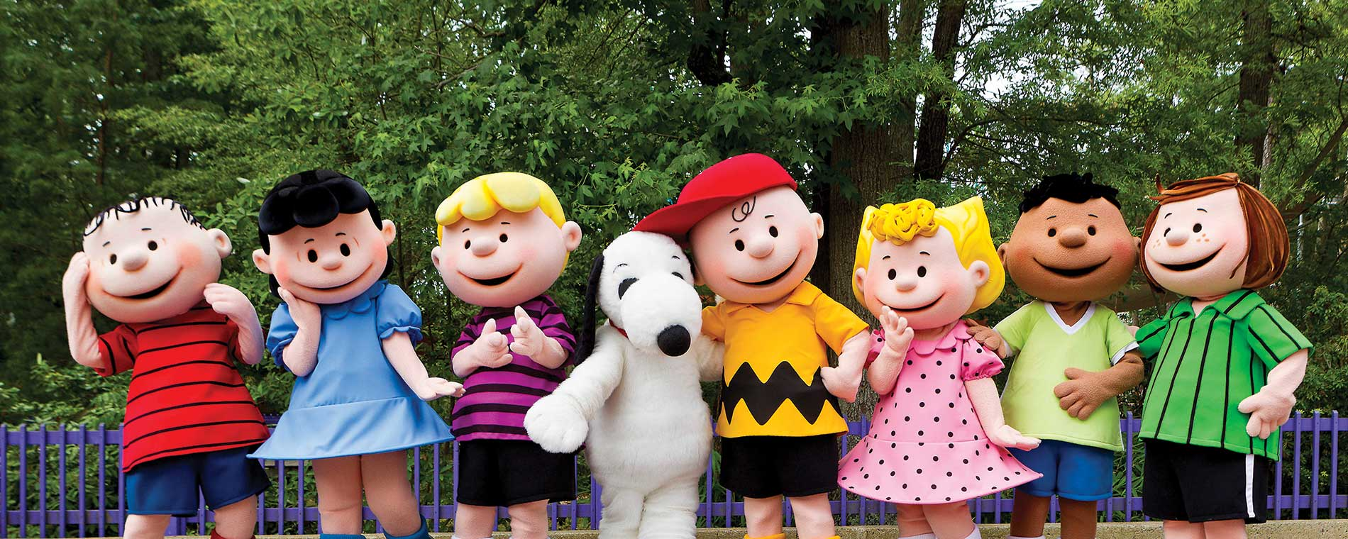 Peanuts Celebration at Carowinds