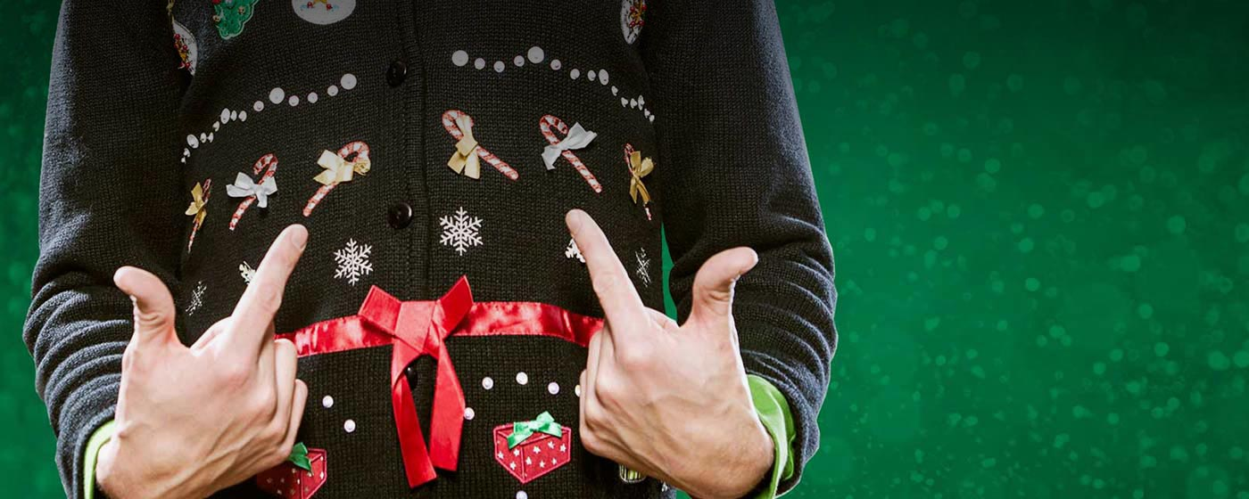 The Wacky, Tacky, Ugly Sweater Party