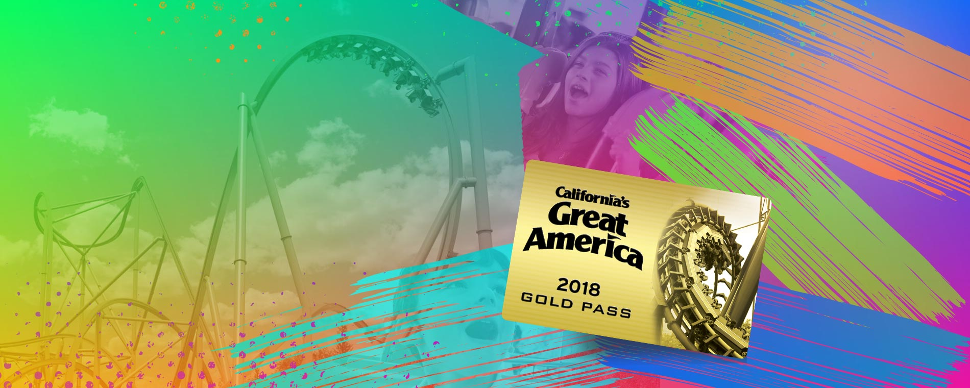 California's Great America Gold Season Pass