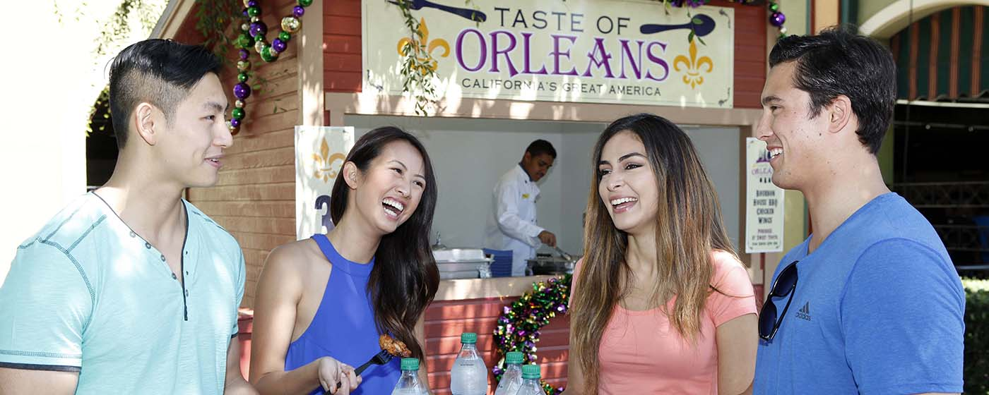 California's Great America Taste of Orleans