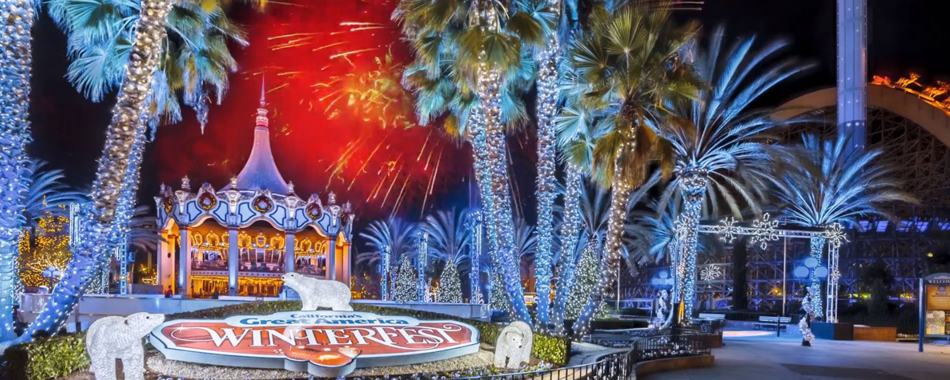 New Year's Eve Celebration at Great America's Holiday Event