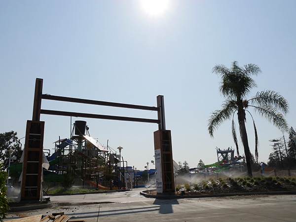 South Bay Shores at California's Great America Waterpark Construction Update