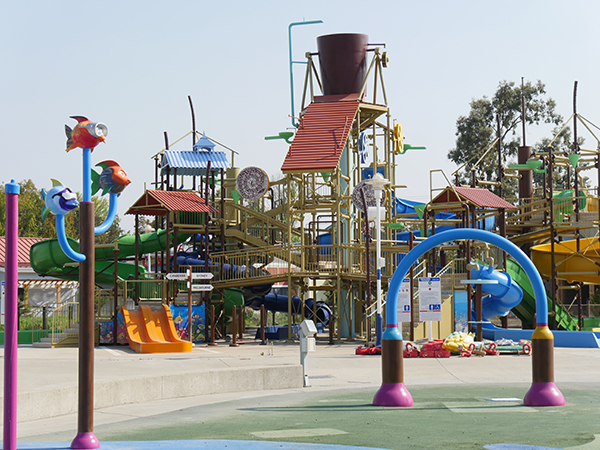 New Kids Water Play Area at California's Great America Waterpark, South Bay Shores