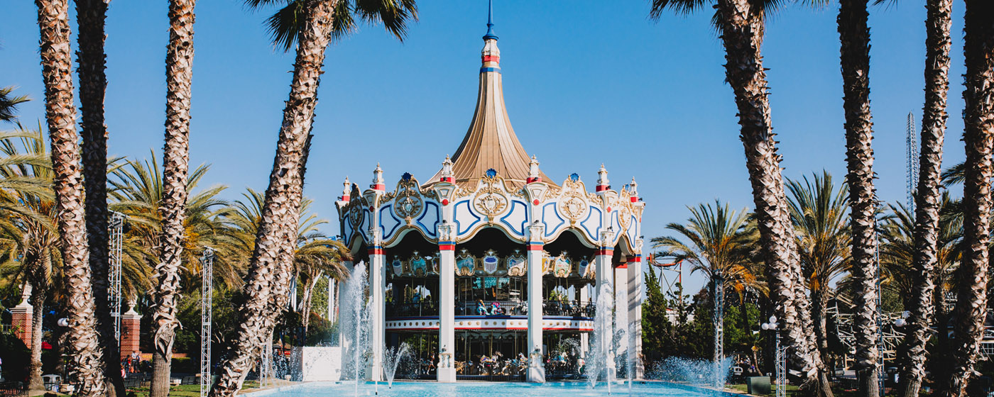 Carousel Columbia The World S Tallest Carousel California S Great America