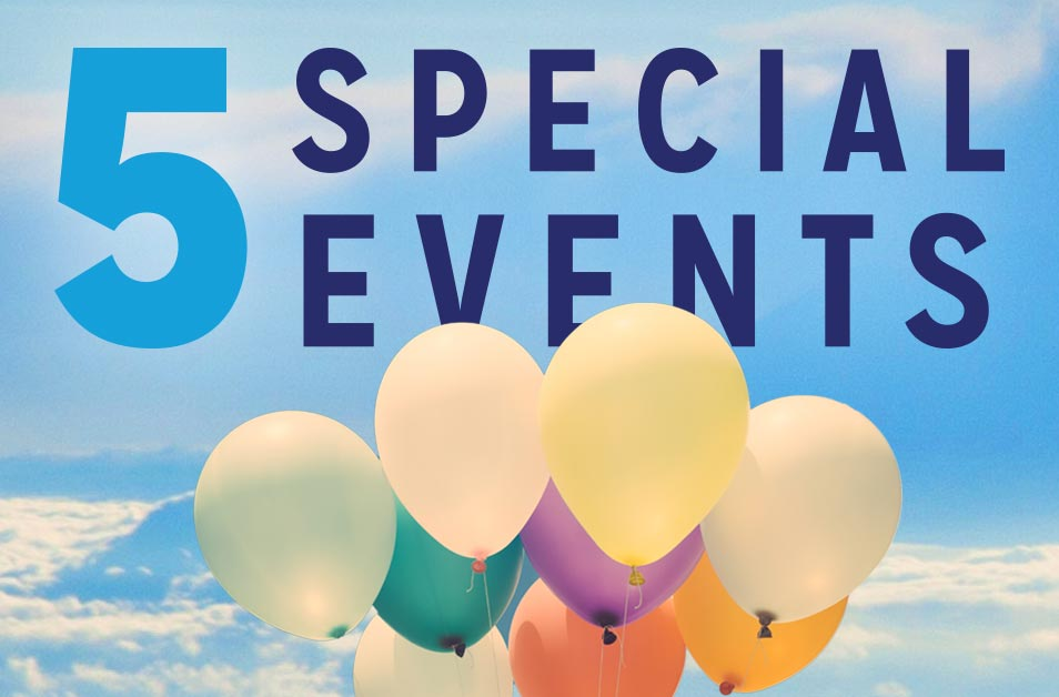 5 Special Events