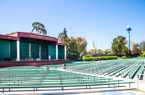 Redwood Amphitheater at Great America's Corporate Event Venue