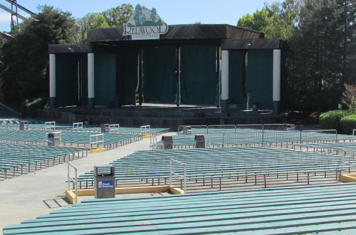 Redwood Amphitheater at Great America
