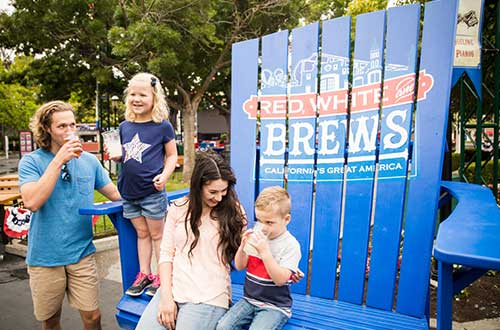 California's Great America Kicks Off Summer with Red, White & Brews Event