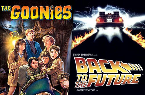 The Goonies & Back to the Future