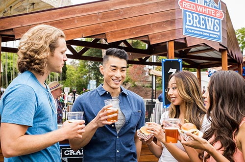 Craft Brews at the Red, White & Brews Food Festival