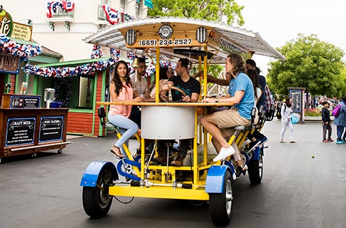 San Jose Beer Bike at Red, White & Brews Food Festival