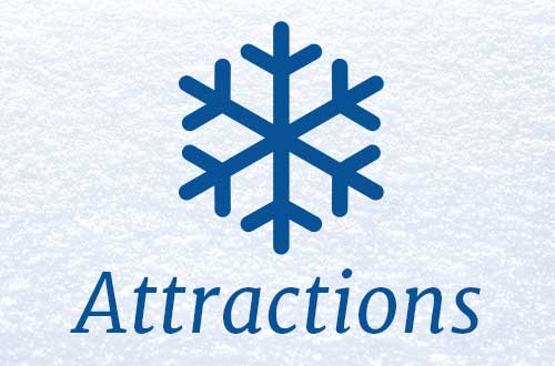 Attractions Icon at Great America's Holiday Event