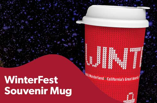 WinterFest Souvenir Mug at Great America