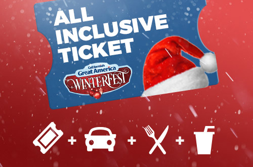 WinterFest All Inclusive Ticket at Great America