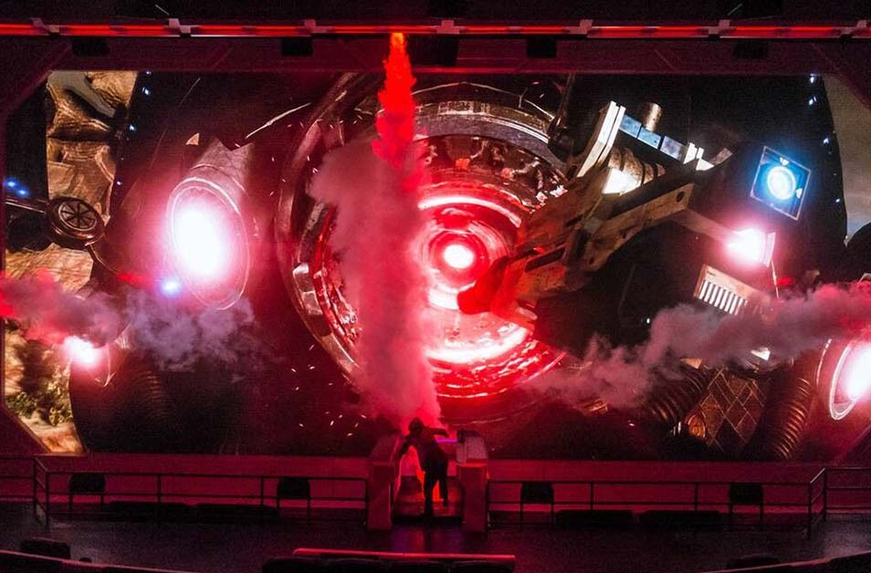 Mass Effect New Earth at California's Great America